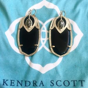 Kendra Scott Jewelry - RARE Kendra Scott Darby Statement Earring Black